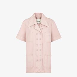 FENDI JACKET - Pink denim jacket - view 1 thumbnail