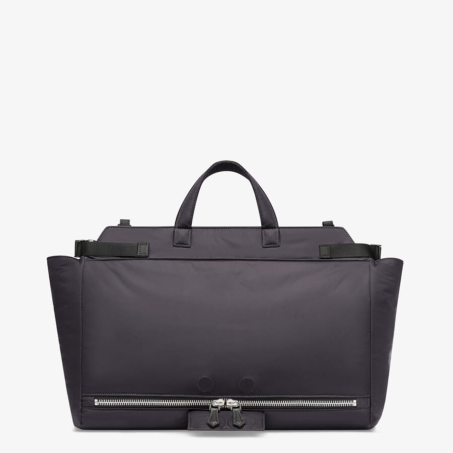 FENDI PEEKABOO ICONIC MEDIUM - Black nylon bag - view 4 detail