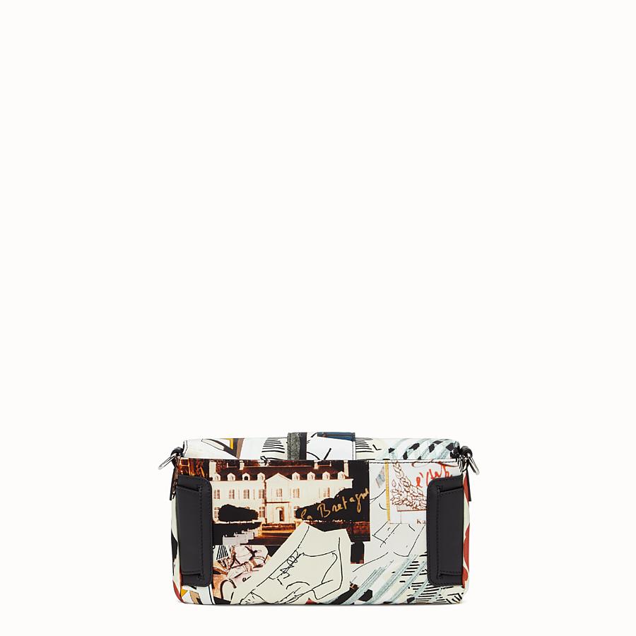 FENDI BAGUETTE - Tasche aus Nylon Mehrfarbig - view 3 detail