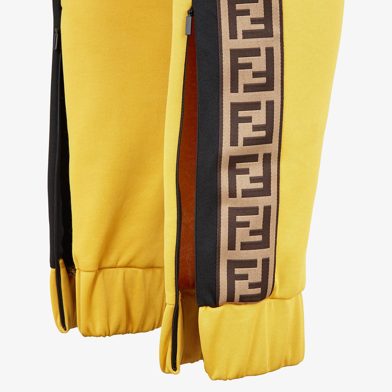 FENDI PANTS - Multicolor acetate pants - view 3 detail