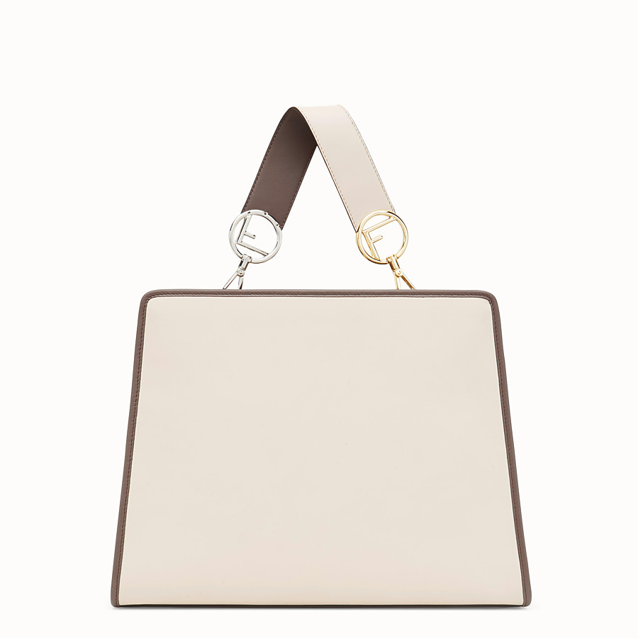 FENDI RUNAWAY REGULAR - Pink leather bag - view 3 detail