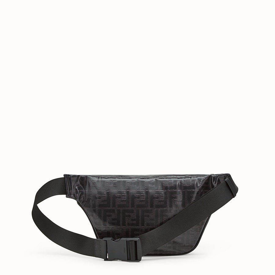 FENDI BELT BAG - Black fabric belt bag - view 3 detail