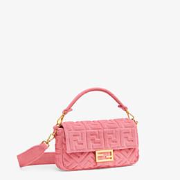 FENDI BAGUETTE - Pink terrycloth bag - view 3 thumbnail