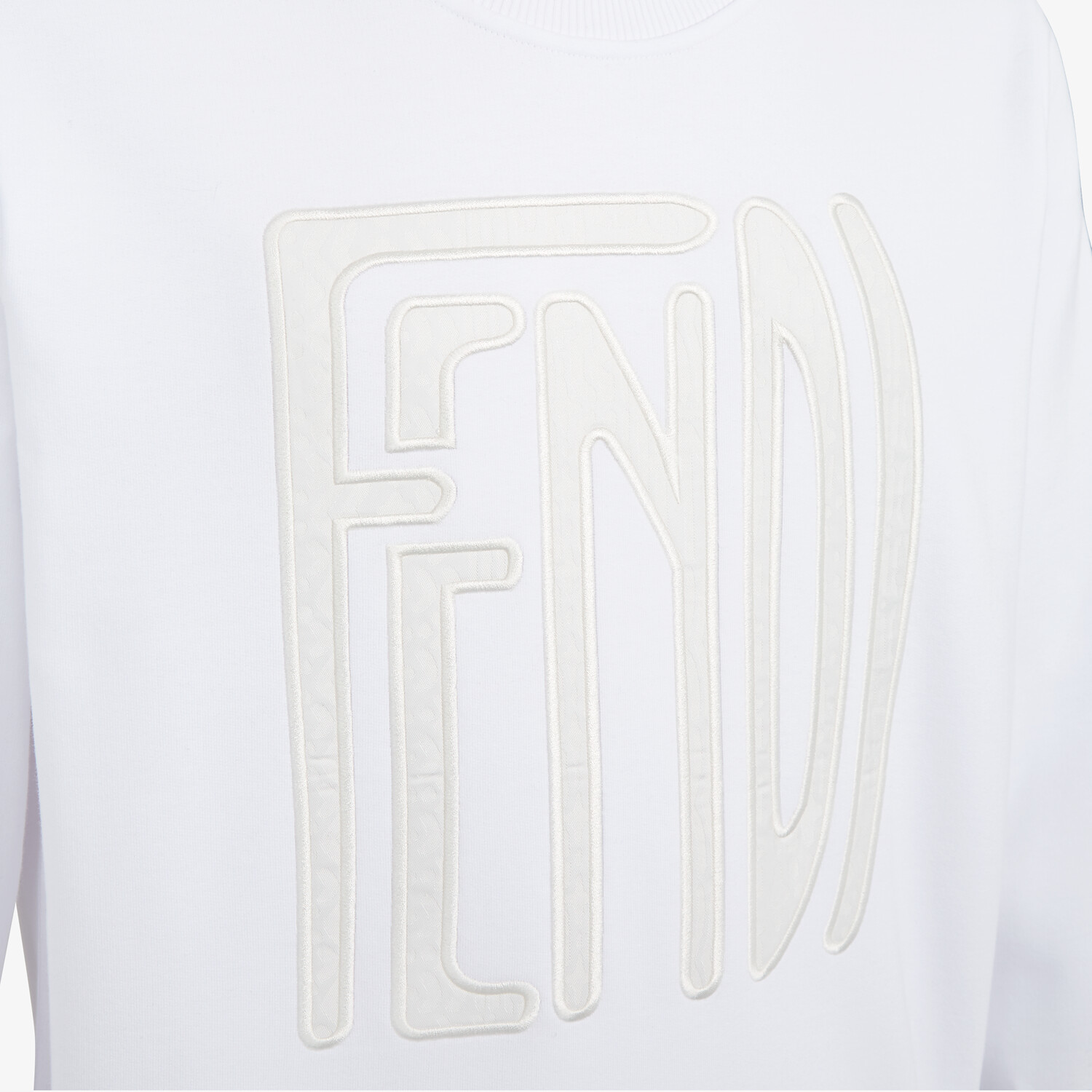 FENDI SWEATSHIRT - Fendi X Anrealage cotton sweatshirt - view 3 detail