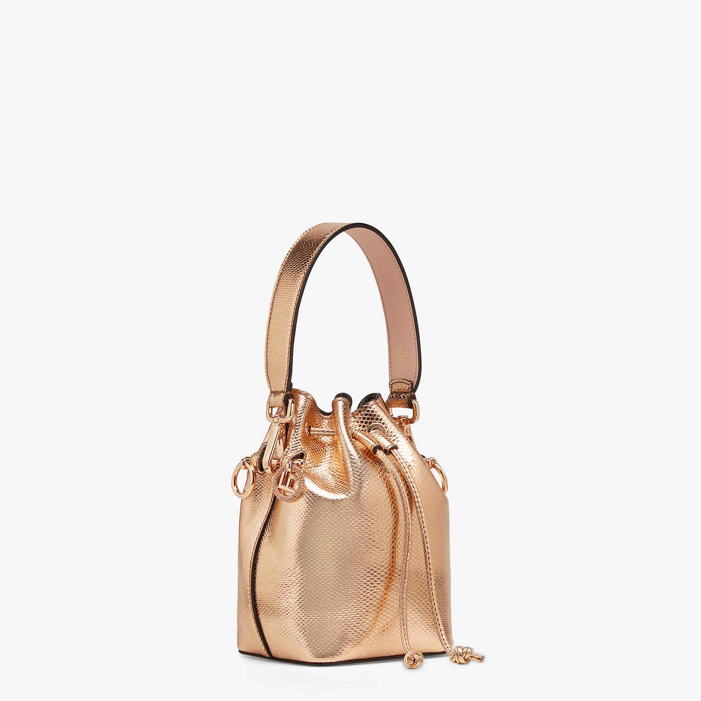 FENDI MON TRESOR - Rose gold karung mini-bag - view 2 detail