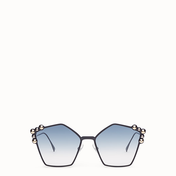 FENDI CAN EYE - Blue sunglasses - view 1 small thumbnail