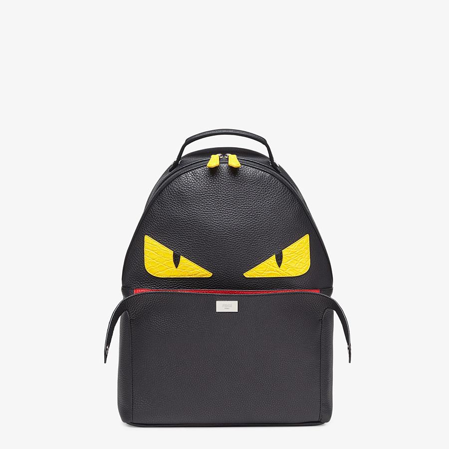 FENDI PEEKABOO BACKPACK - Black leather backpack - view 1 detail