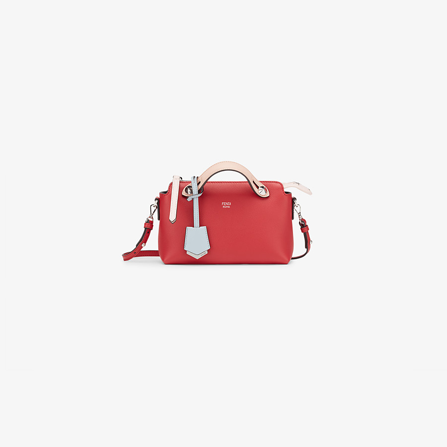 FENDI BABY BY THE WAY - Red leather mini By The Way - view 1 detail