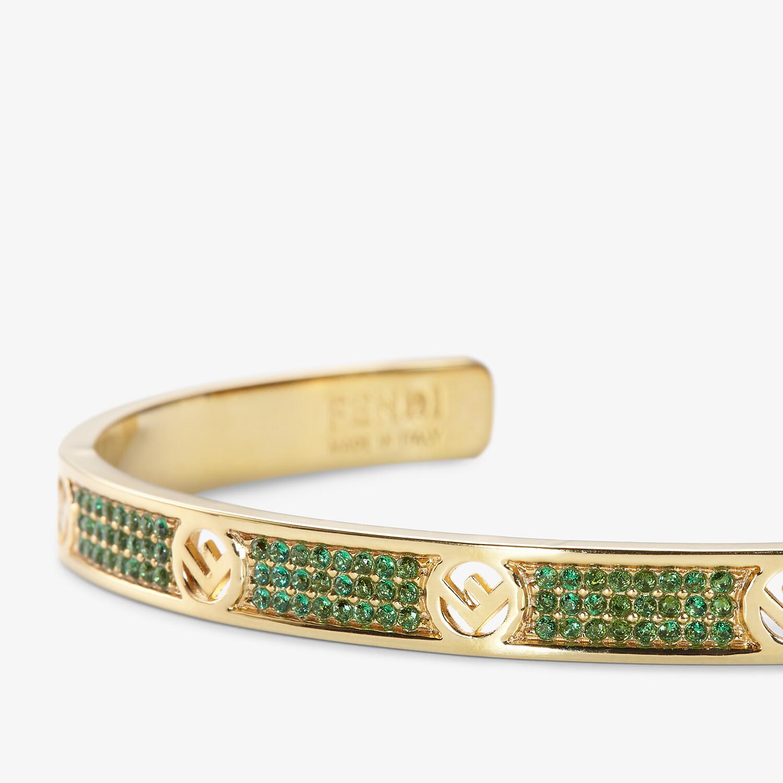 FENDI F IS FENDI BRACELET - Gold-colour bracelet - view 2 detail
