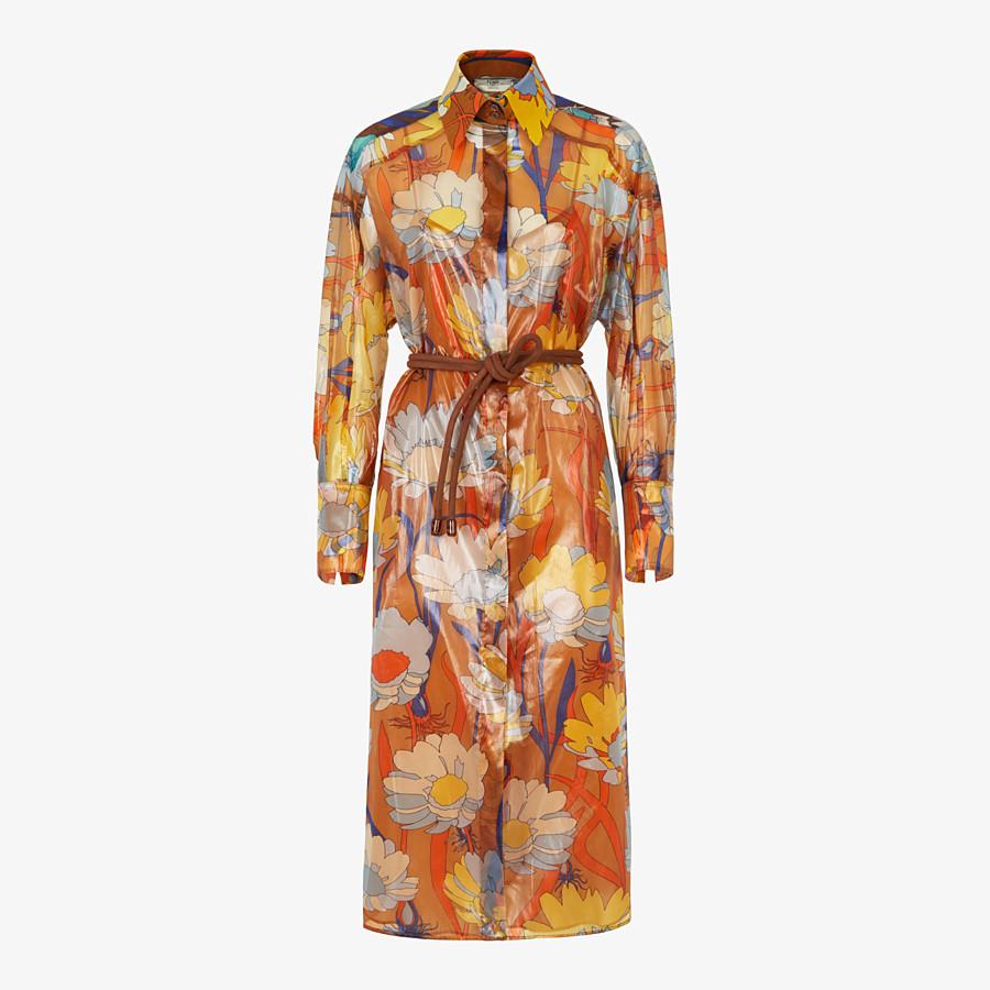 FENDI DRESS - Multicolour nylon dress - view 1 detail