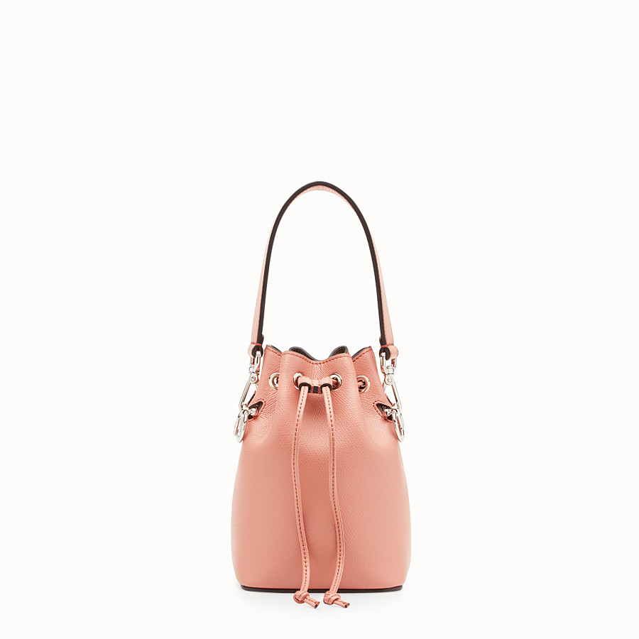 FENDI MON TRESOR - Pink leather mini-bag - view 1 detail