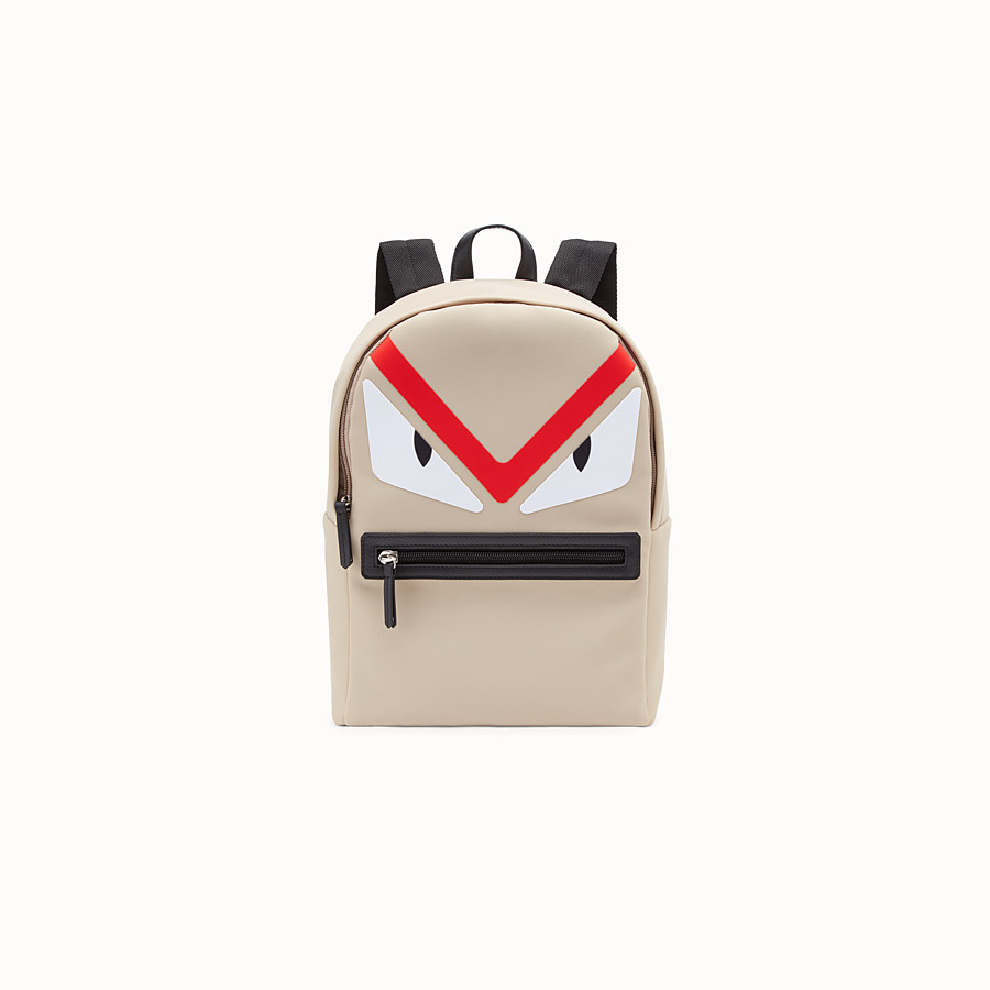 FENDI BABY BACKPACK - Printed neoprene backpack - view 1 detail