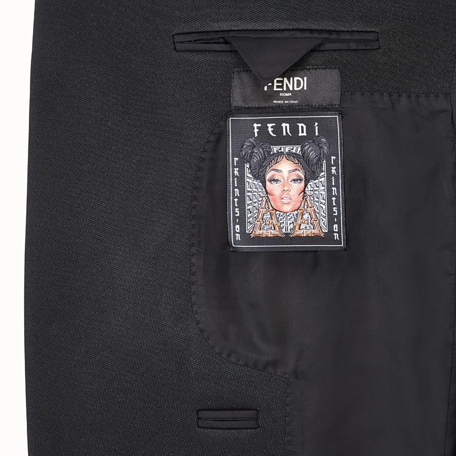 FENDI JACKE - Fendi Prints On Blazer aus Jersey - view 5 detail
