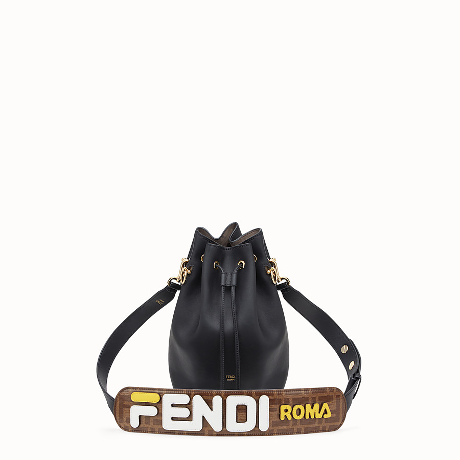 FENDI STRAP THRU - Glazed fabric shoulder strap - view 3 detail