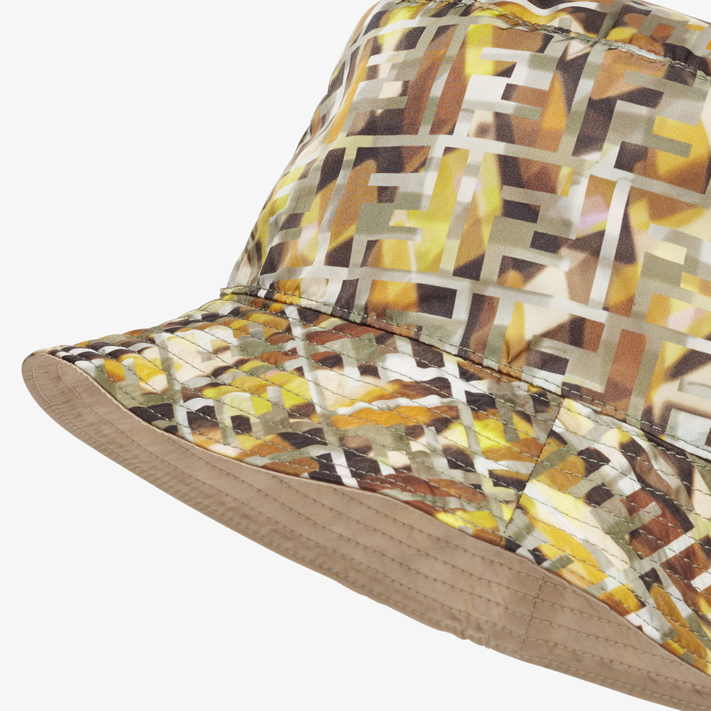 FENDI HAT - Multicolor nylon hat - view 2 detail