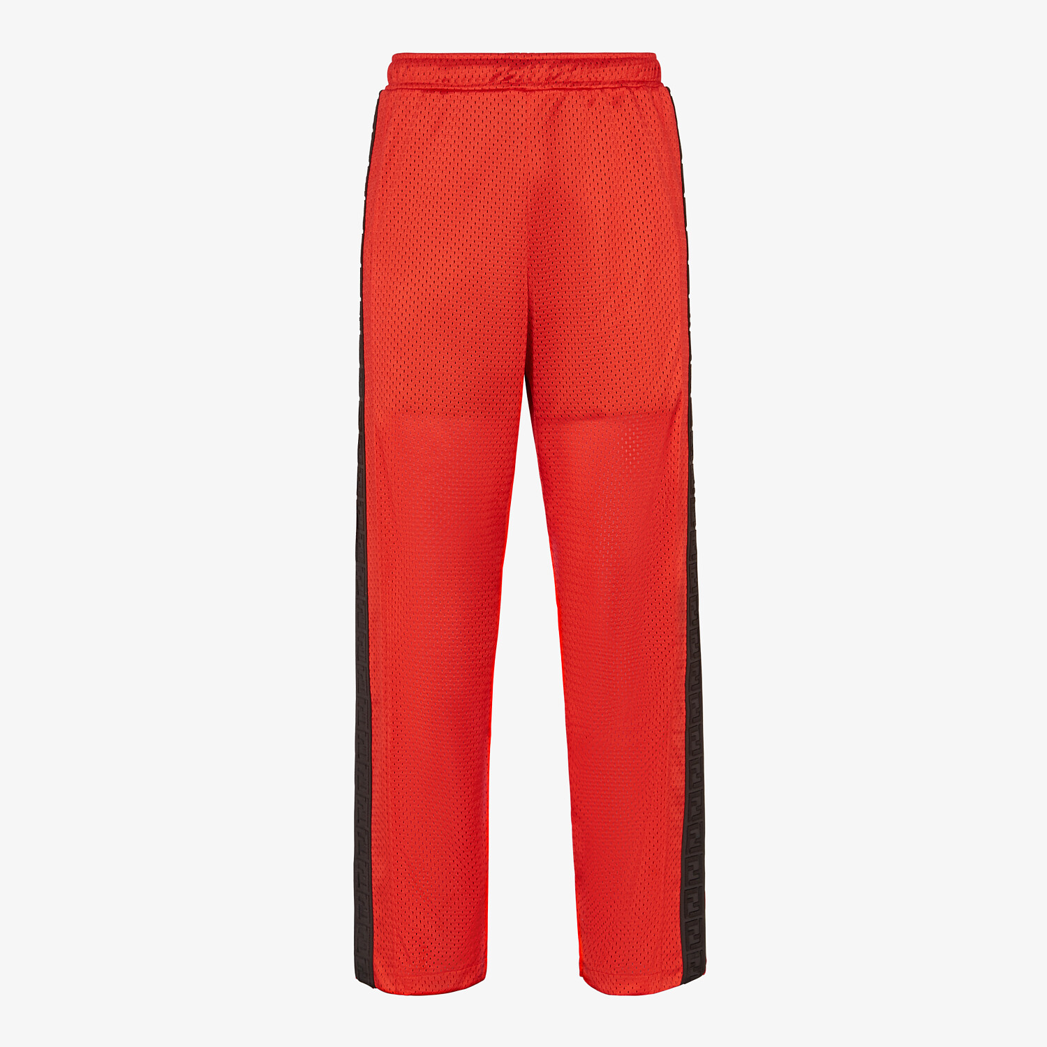 FENDI PANTS - Red tech mesh pants - view 1 detail