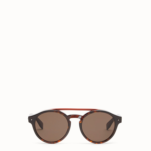 FENDI I SEE YOU - Havana Asian fit sunglasses - view 1 small thumbnail