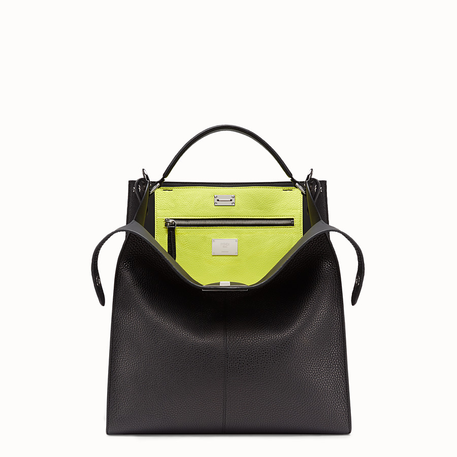 FENDI PEEKABOO X-LITE FIT - Fendi Roma Amor bag in Romano leather - view 1 detail