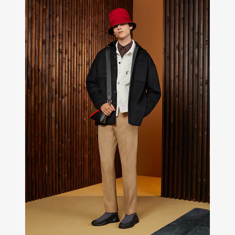 FENDI HAT - Brown fabric hat - view 4 detail