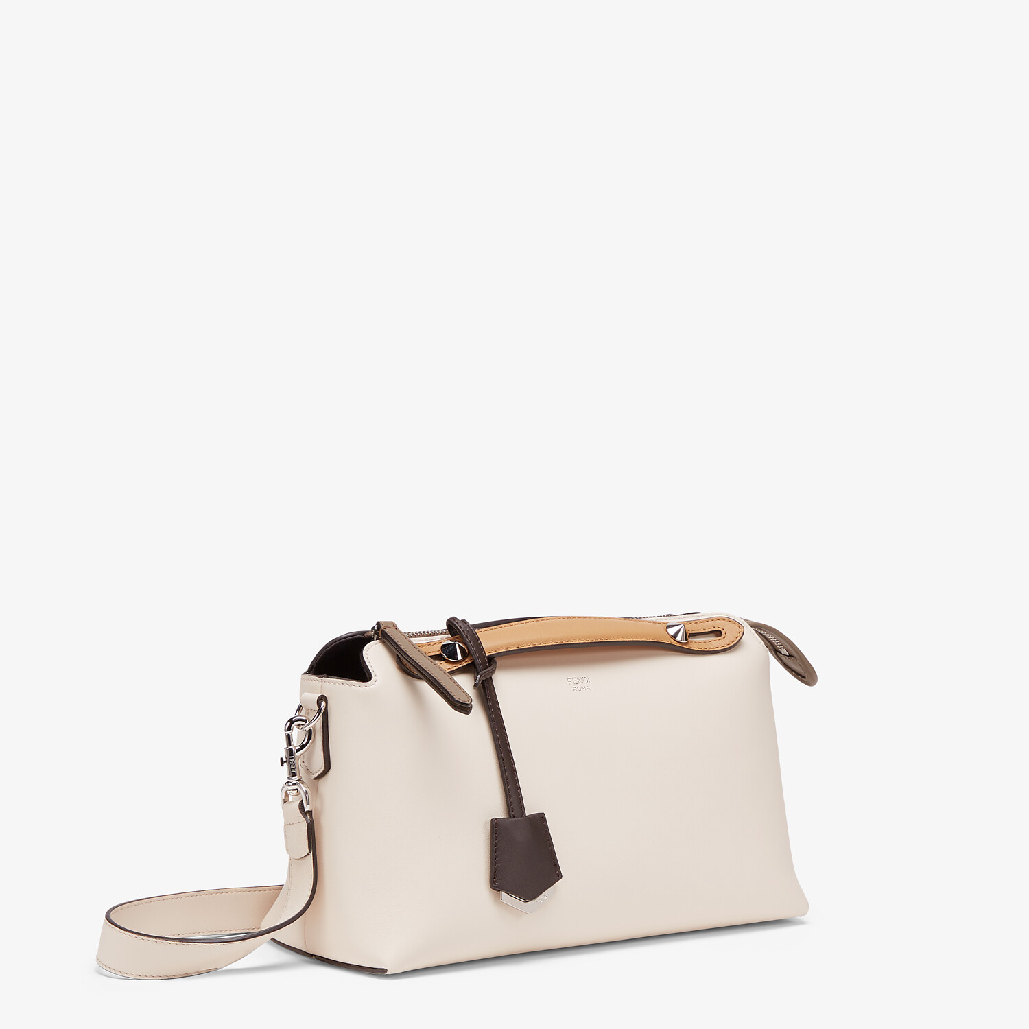FENDI BY THE WAY MEDIUM - Multicolor leather Boston bag - view 2 detail