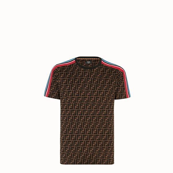 FENDI T-SHIRT - Fendi Roma Amor jersey T-shirt - view 1 small thumbnail