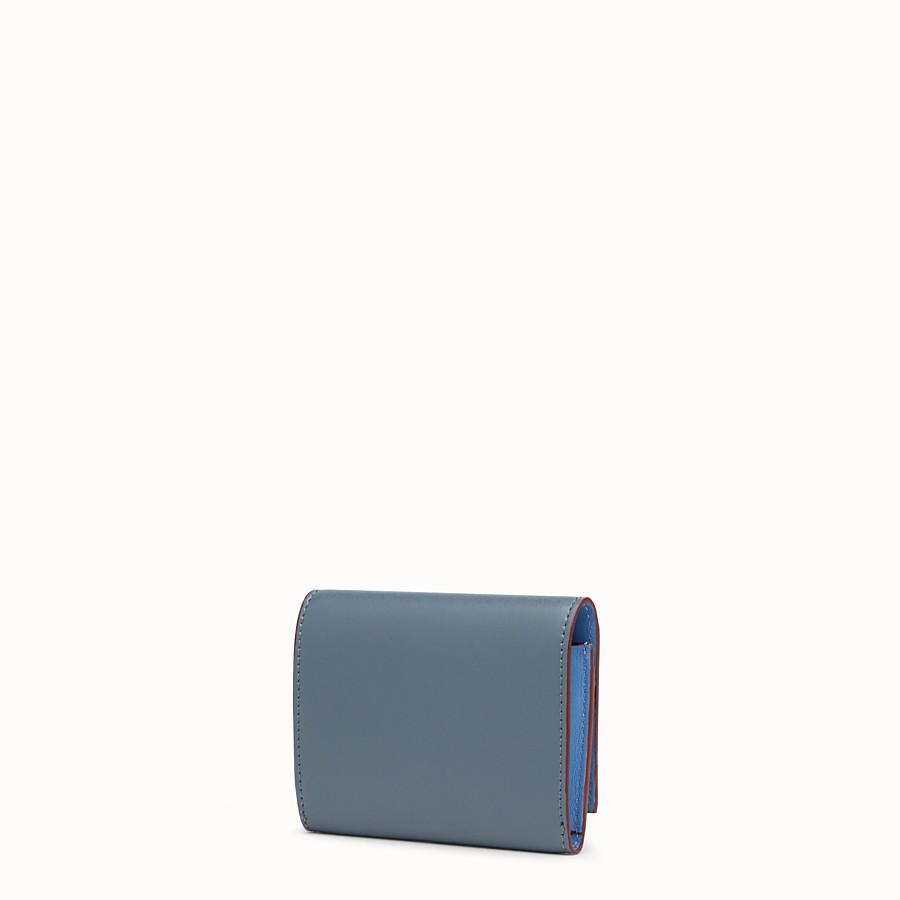FENDI 卡片套 - 藍色皮革商務卡片套 - view 2 detail