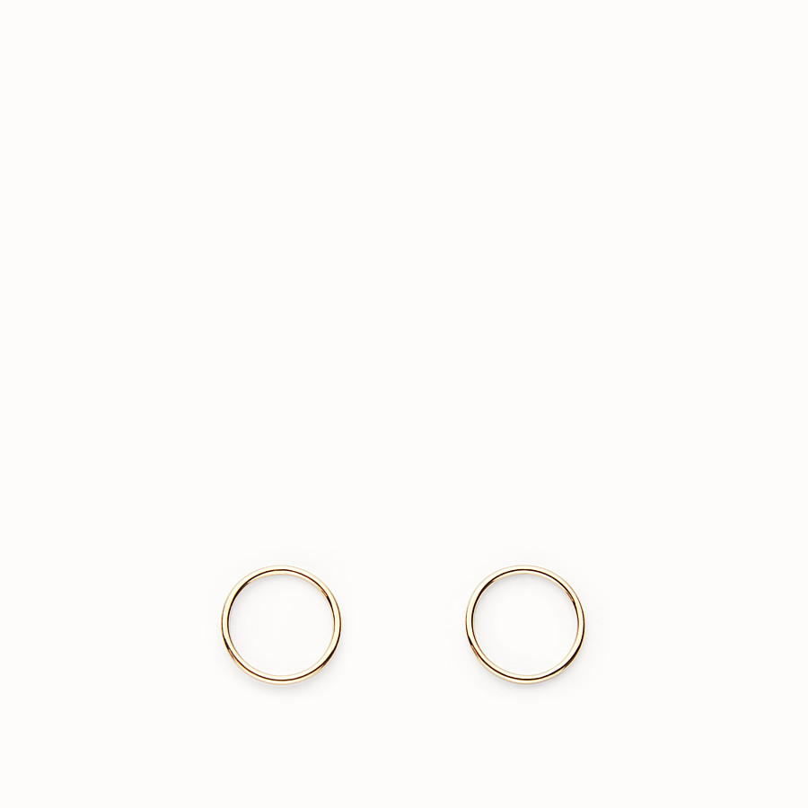 FENDI ABCHIC EARRINGS - Gold-colour earrings - view 1 detail