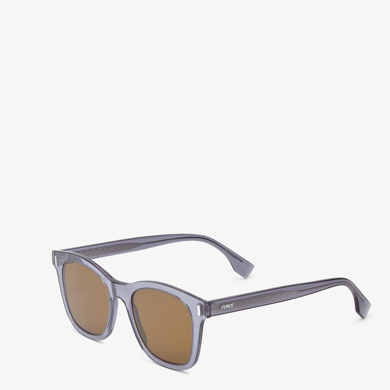 FENDI FENDI - Blue sunglasses - view 2 detail