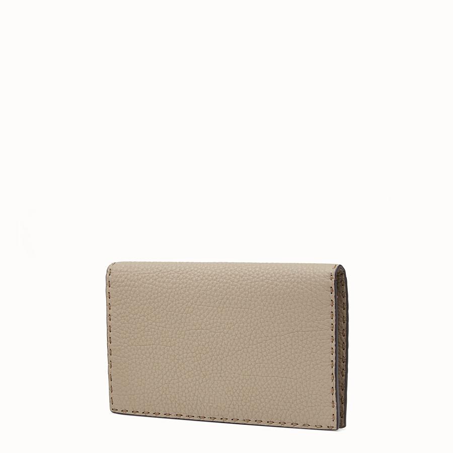 FENDI WALLET - Selleria cord-coloured wallet on chain - view 2 detail