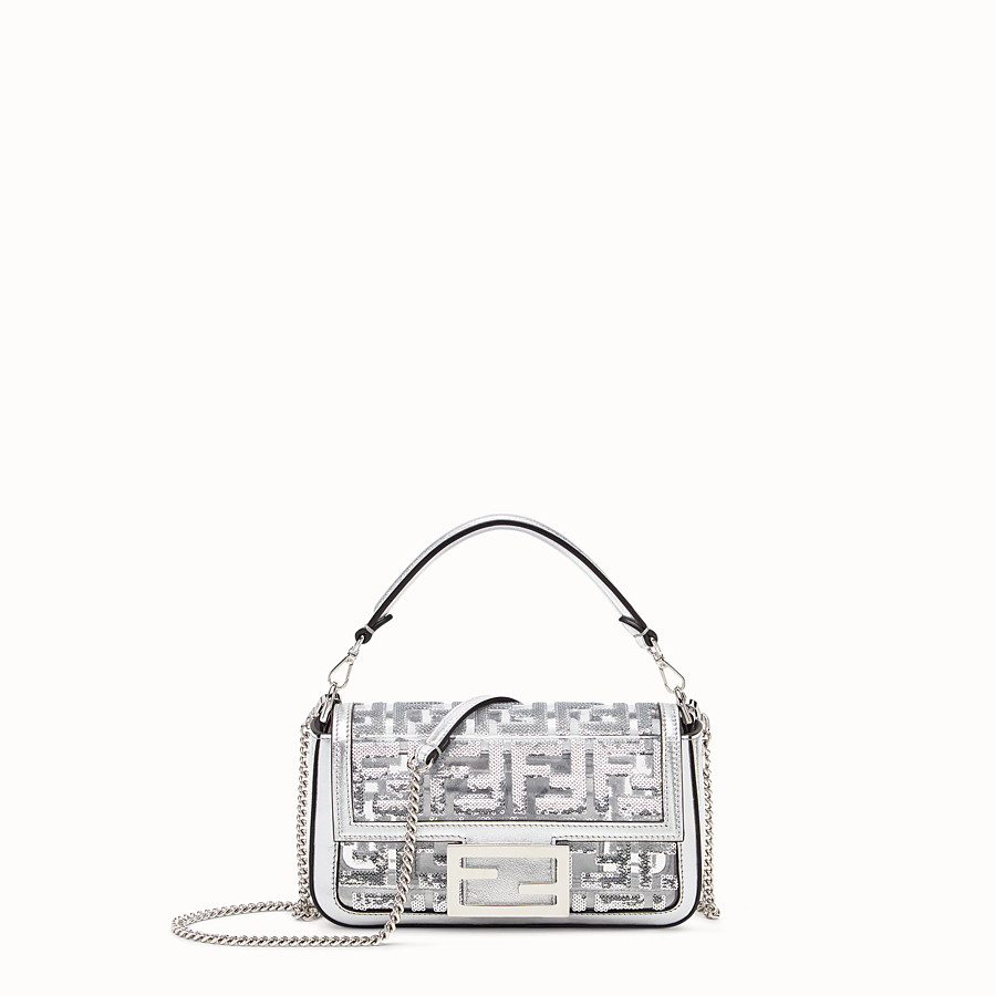 FENDI BAGUETTE MINI - Transparent PVC bag - view 1 detail