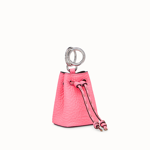 FENDI NANO MON TRESOR CHARM - Fendi Roma Amor leather charm - view 1 small thumbnail