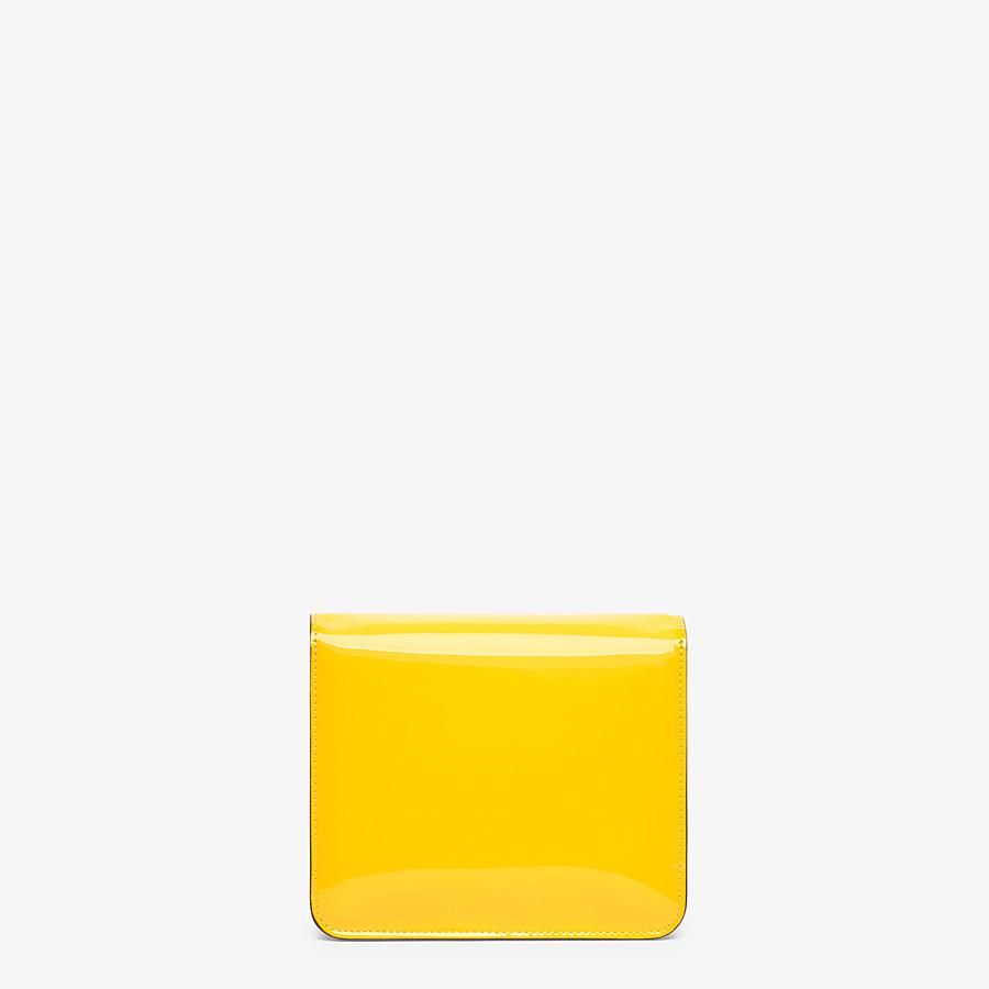FENDI KARLIGRAPHY - Yellow patent leather bag - view 3 detail