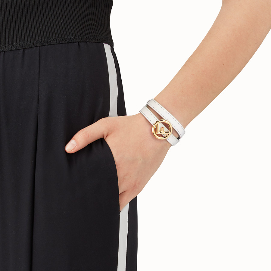 FENDI F IS FENDI BRACELET - White bracelet - view 2 detail