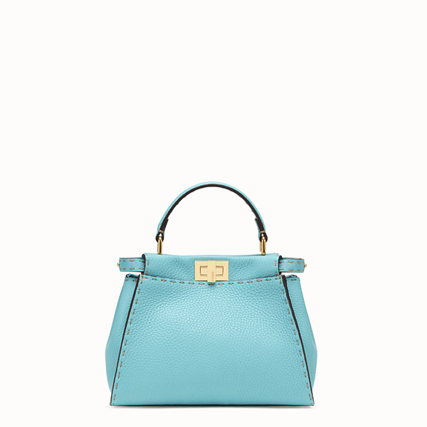 FENDI PEEKABOO ICONIC MINI - Fendi Roma Amor leather bag - view 1 small thumbnail