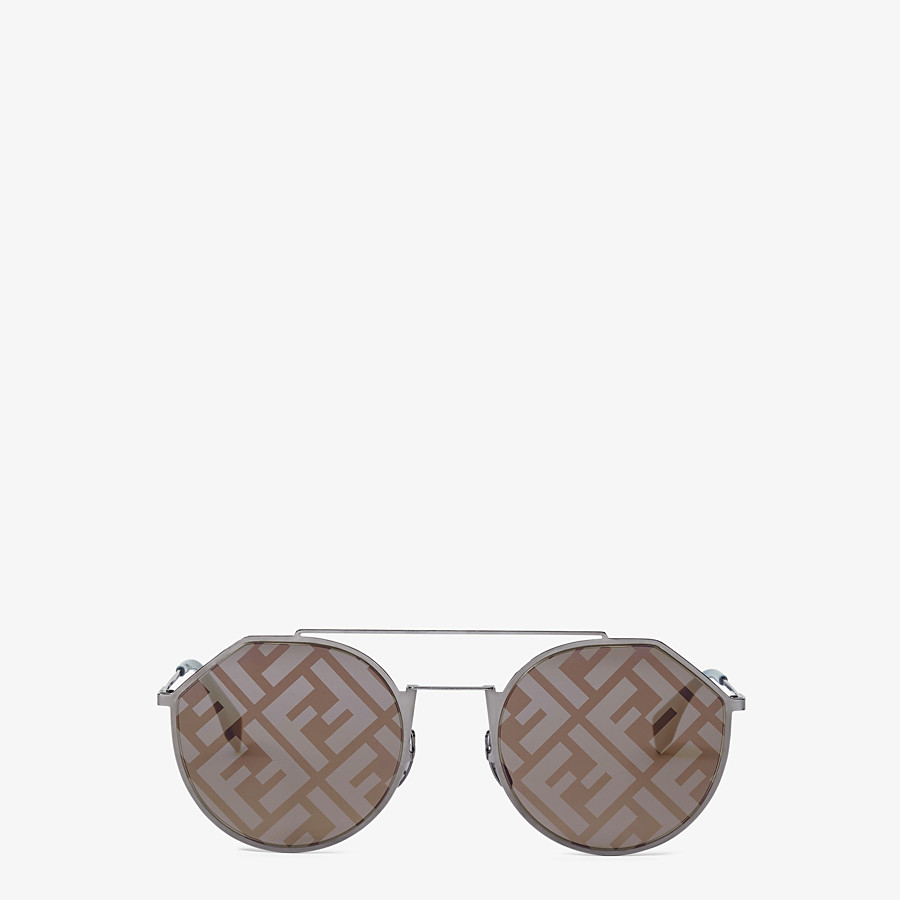 FENDI EYELINE - Gray sunglasses - view 1 detail
