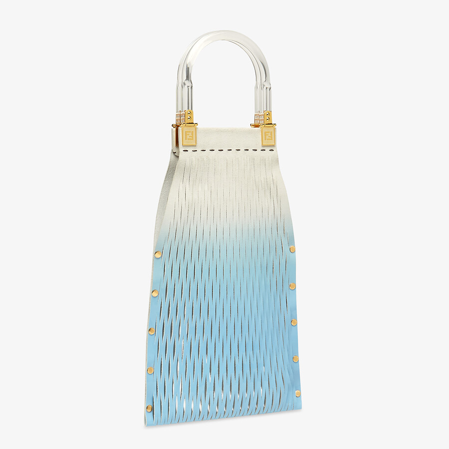 FENDI FENDI SUNNY - Two-toned patent leather shopper - view 3 detail