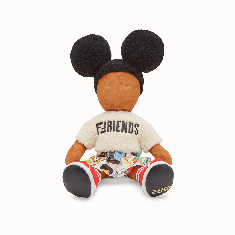 FENDI NUMBERED COLLECTABLE DOLL - Collectable doll in sheepskin and poplin - view 2 detail