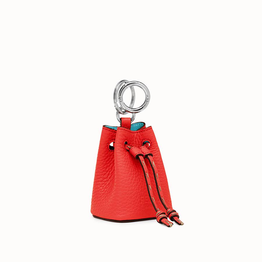 FENDI MICRO MON TRESOR CHARM - Fendi Roma Amor leather charm - view 1 detail