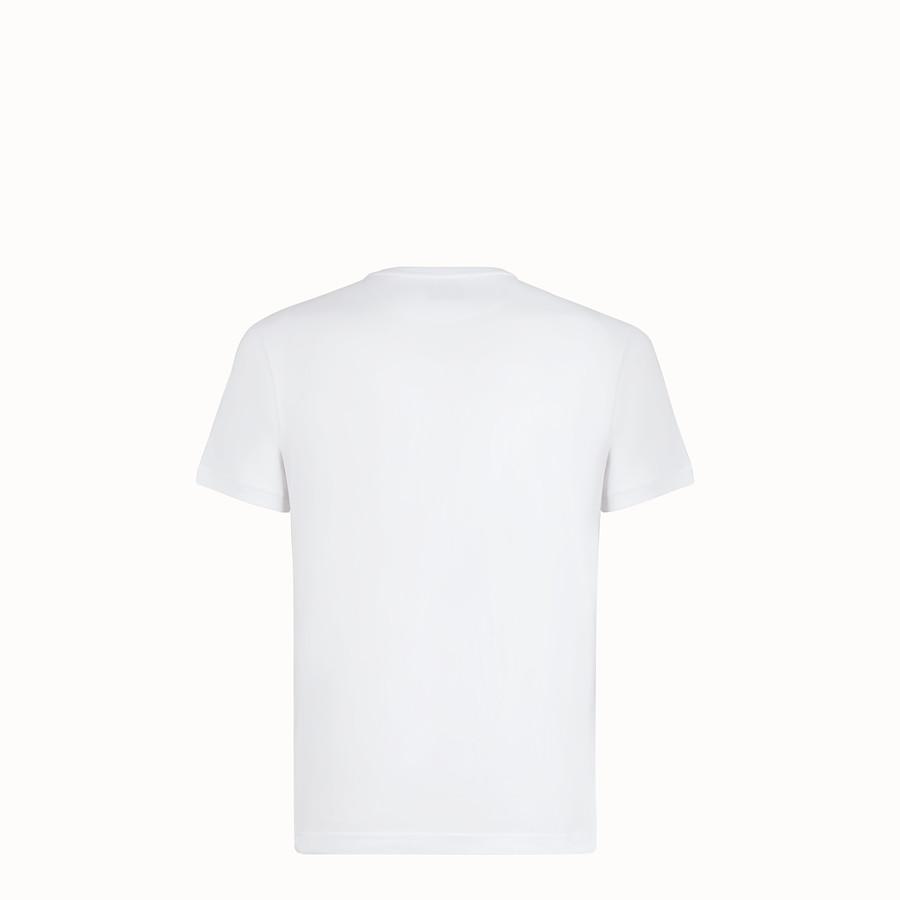 FENDI T-SHIRT - T-Shirt aus Baumwolle in Weiß - view 2 detail