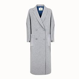 FENDI OVERCOAT - Wool coat - view 1 thumbnail