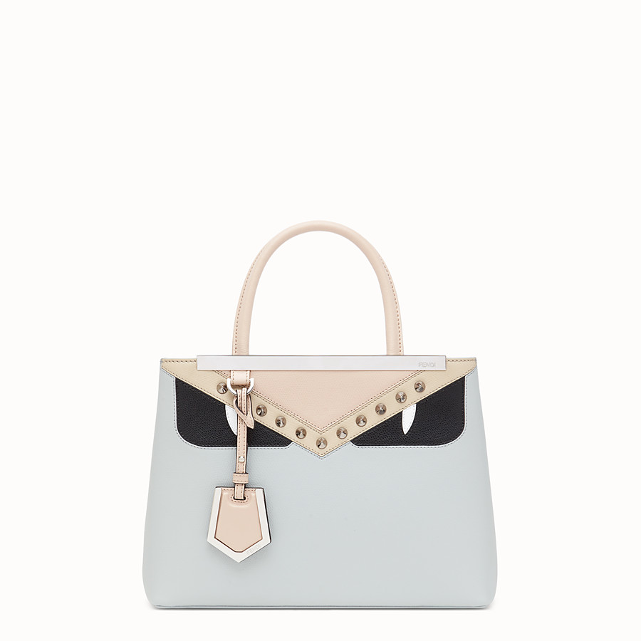 FENDI PETITE 2JOURS - Grey leather bag - view 1 detail