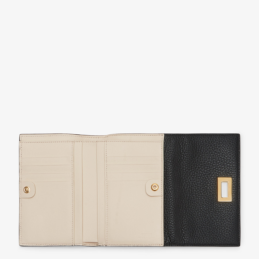 FENDI WALLET - Black leather wallet - view 4 detail
