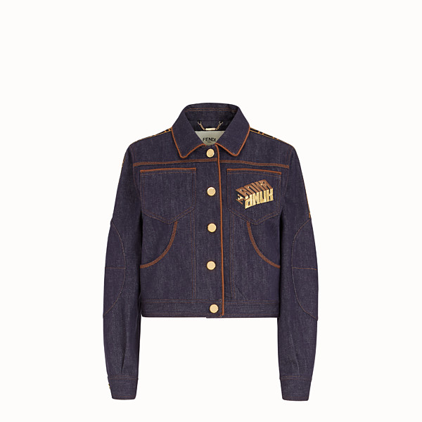 FENDI JACKET - Fendi Roma Amor denim jacket - view 1 small thumbnail