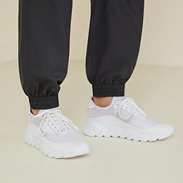 FENDI SNEAKERS - Sneaker aus technischem Netzgewebe in Weiß - view 5 thumbnail
