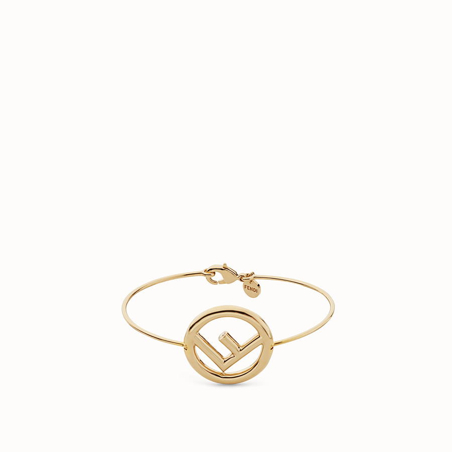 FENDI F IS FENDI BRACELET - Gold colour bracelet - view 1 detail