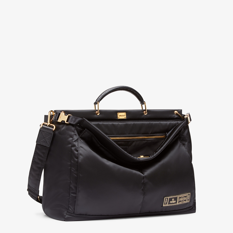FENDI PEEKABOO MEDIUM FENDI AND PORTER - Black nylon bag - view 2 detail