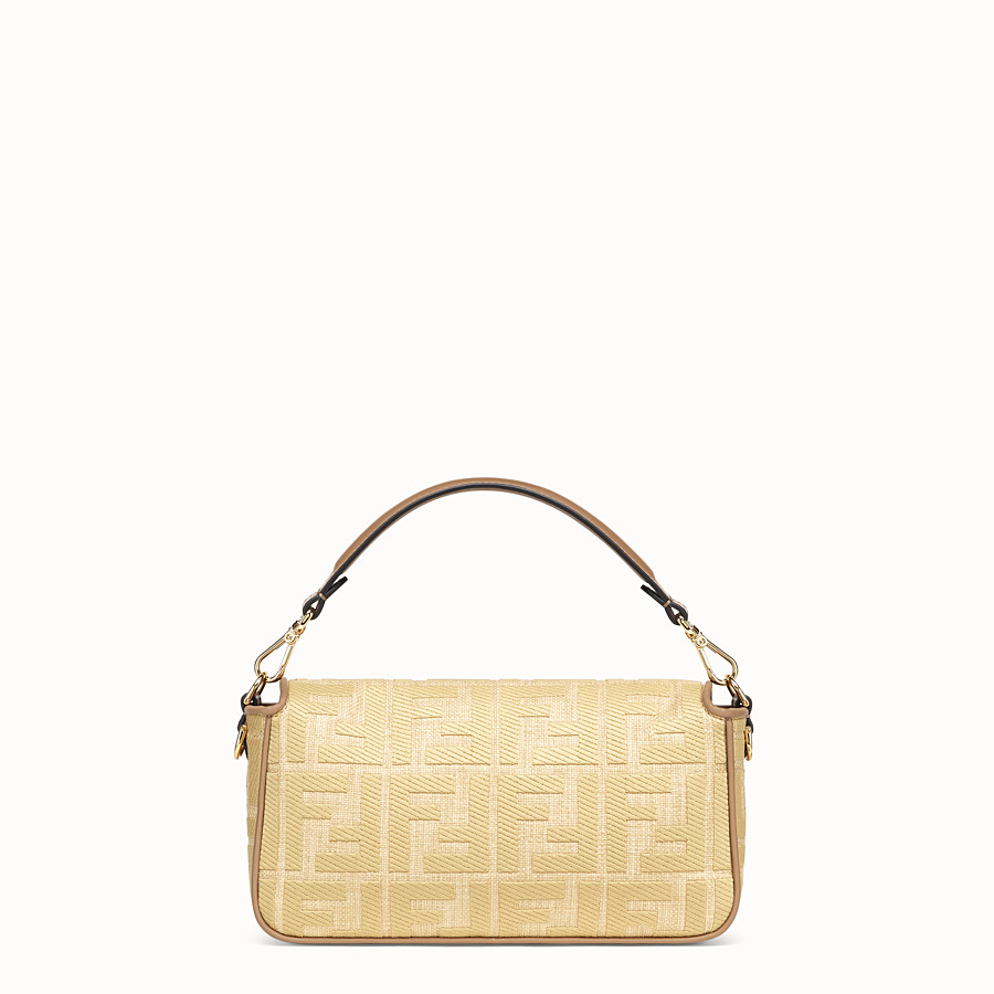 FENDI BAGUETTE - Natural straw bag - view 4 detail