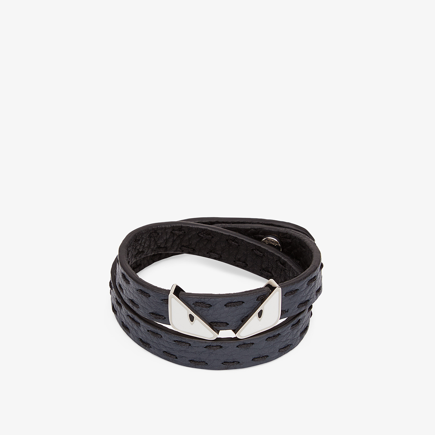 FENDI DOUBLE TOUR BRACELET - Multicolour leather bracelet - view 2 detail