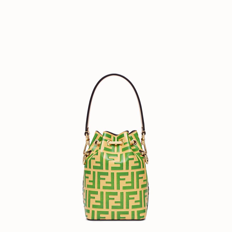 FENDI MON TRESOR - Minibag in pelle beige - vista 4 dettaglio