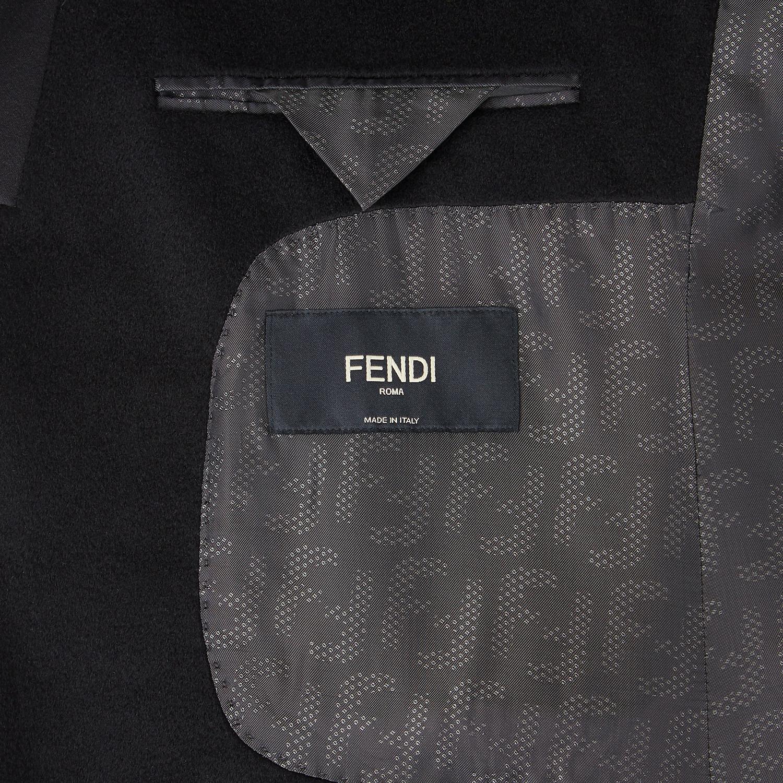 FENDI JACKET - Black cashmere blazer - view 5 detail